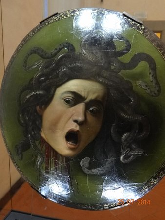 Galería de los Uffizi: One of the thousands of art work to be seen and enjoyed