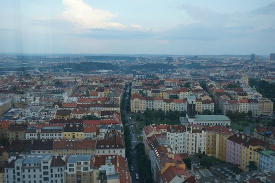 Zizkov Televison Tower: вид