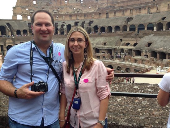 Roman Forum: Inside the Colosseum