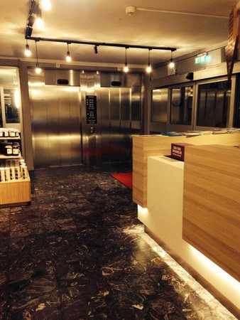 Scandic Lulea North: Superfin reception med trevlig och hjälpsam personal