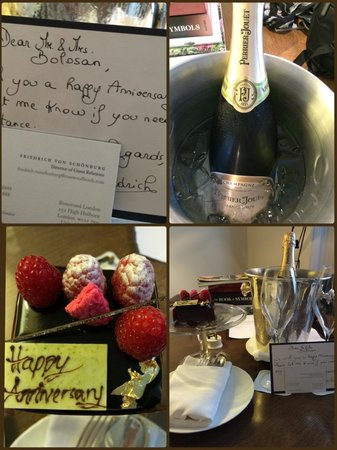 Rosewood London : Such a sweet surprise!