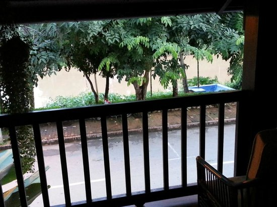 Kiridara Villa: View from upper balcony