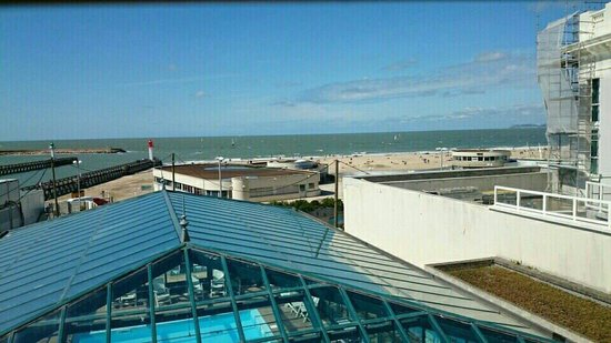 Soleil Vacances Beach Hôtel : Vu de la chambre 403