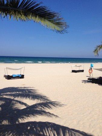 Fusion Maia Da Nang: Strand, sehr sauber und gepflegt.