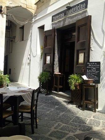 Taverna Buonvicino: Vista dai tavoli
