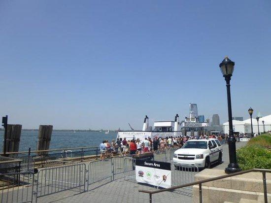 Battery Park : フェリー乗り場