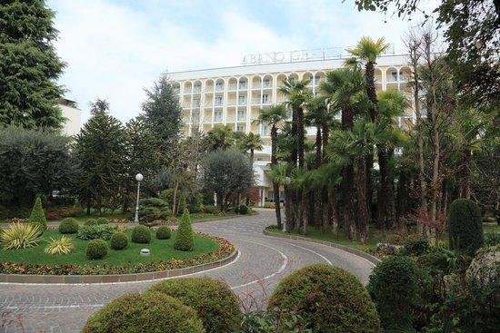 Abano Grand Hotel : Abano Grand Hote. Парк