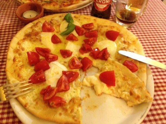 Il Nipotino del Solitario : Pizza mozzarela buffalo
