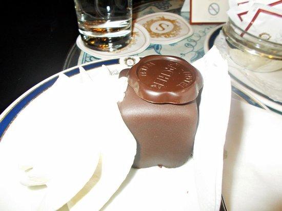 Café Sacher Wien: World's Greatest Cake.