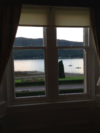 Buccleuch Guest House : View from the bedroom window - lovely