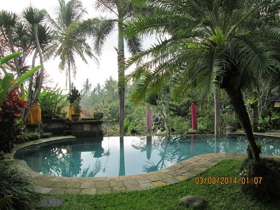 Bunga Permai Hotel: view from our room