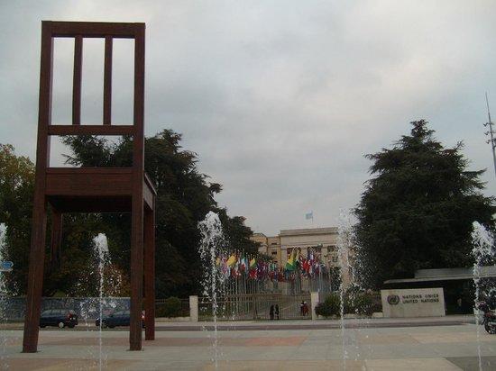 UNOG - Palais des Nations: Place des Nations