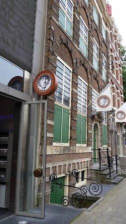 Musée de la maison de Rembrandt : Museu Casa de Rembrandt, Amsterdão.