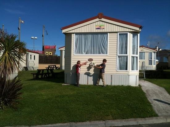 Sandymouth Holiday Park: Our home for the week