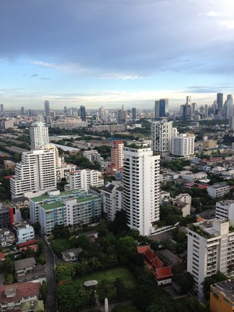 Sofitel Bangkok Sukhumvit: Blick von der Hotelbar