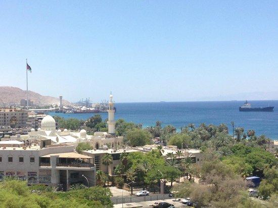 DoubleTree by Hilton Hotel Aqaba: wonderful balcony view!