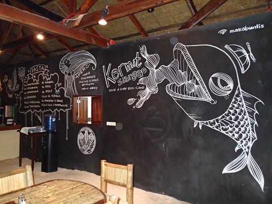 Kermit Surf Resort Siargao: Restaurant