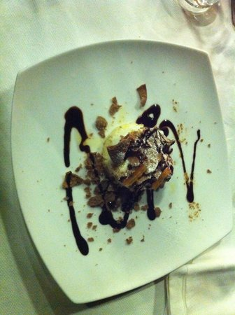 Akropolis Restaurant : Il dessert