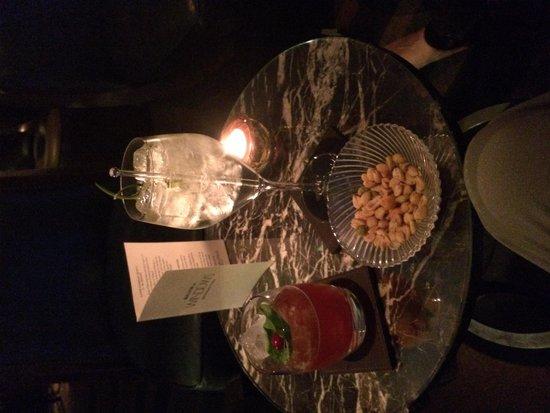 Galvin at Windows Restaurant: drinks