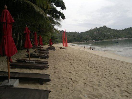 Anantara Rasananda Koh Phangan Villas : Strand