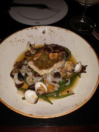 Pla Restaurant : Poisson au jus de jambon iberic