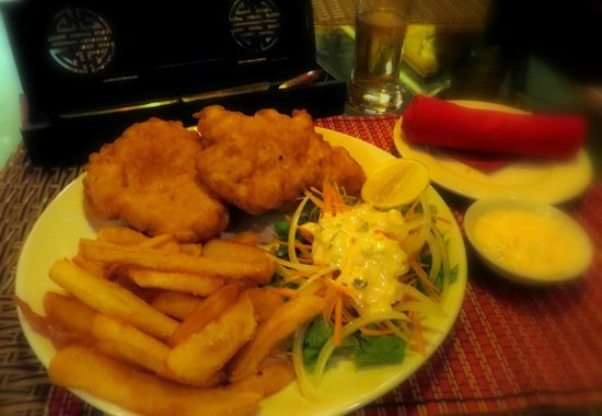 Day and Night Restaurant: Fish and Chips