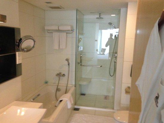 Holiday Inn Binhai Tianjin: Ванная