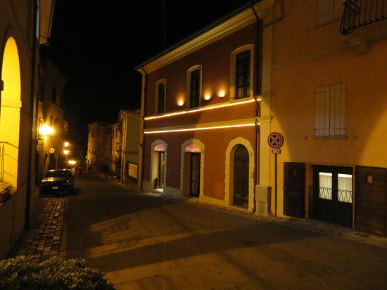 Oste del Castello Wellness & Bike: vista ingresso Hotel