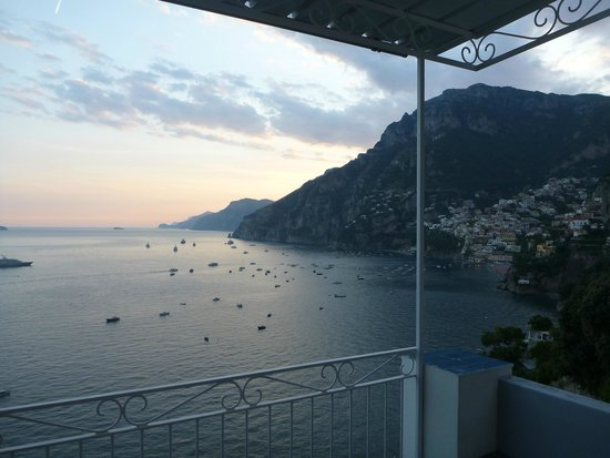 Holiday House Gilda : Sunset from the balcony - amazing