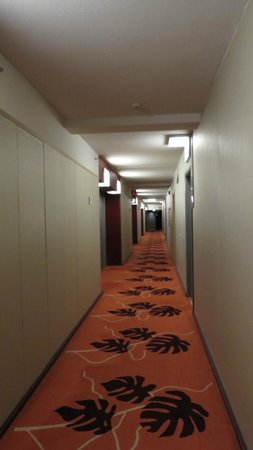 Radisson Blu Royal Hotel, Helsinki: corridor