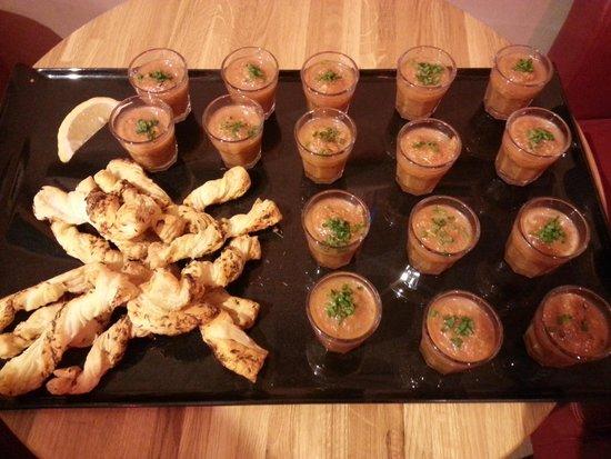 No. 16: gazpacho soup sips