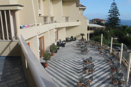 Grand Hotel Vesuvio: vista dalla camera