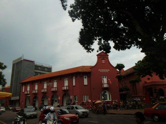 Christ Church: マラッカ有名スポット