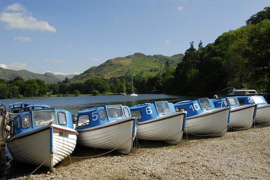 Ullswater Lake: Boats