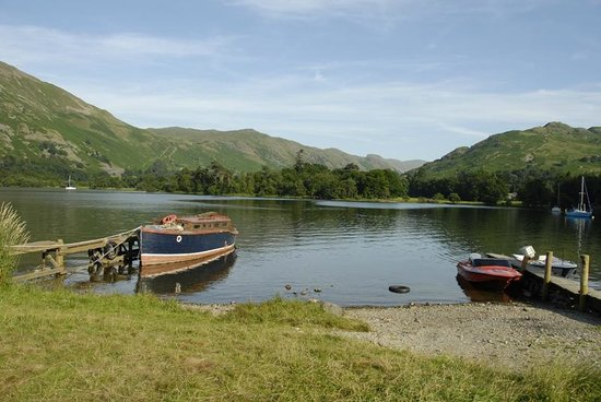Ullswater Lake: View from Cafe