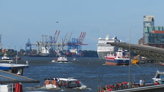 Landungsbrücken: Havnen