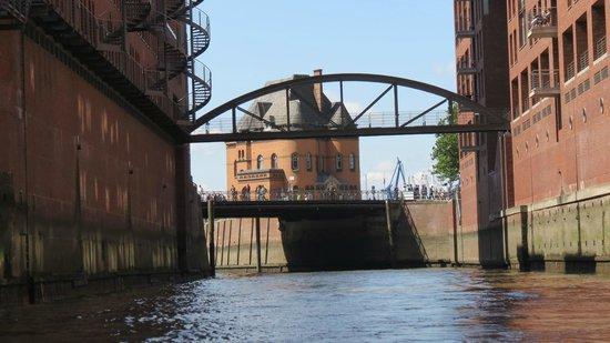 Landungsbrücken: Pakhusområdet