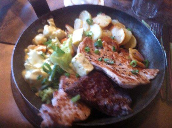Nettis Restaurant: Pfanne