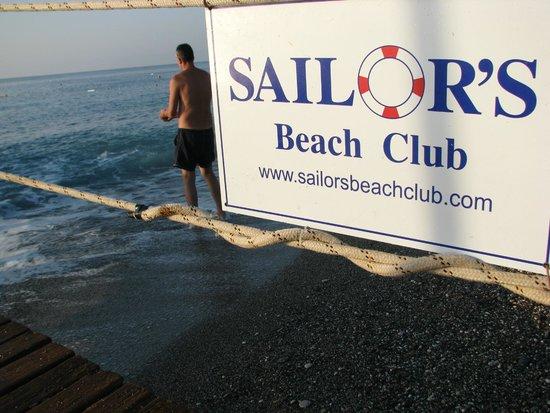 Sailor's Beach Club: views