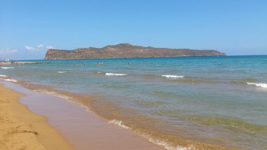 Minerva Beach : sandy beach front on the hotel
