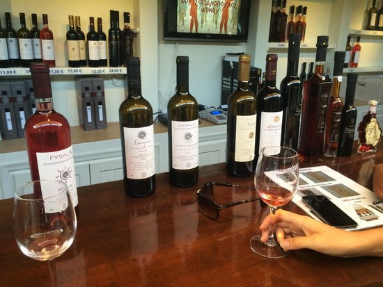 Wine Museum Koutsogiannopoulos: The 4 wines of the tasting
