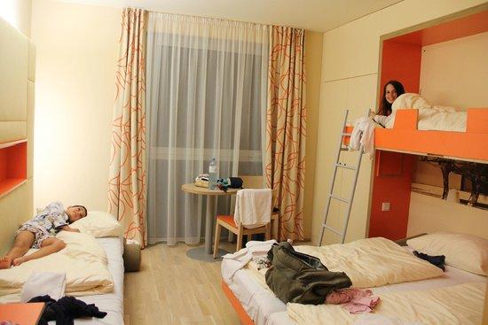 JUFA Hotel Wien City: the family room