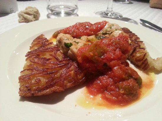 14 Quai Bergeret : tartare de thon