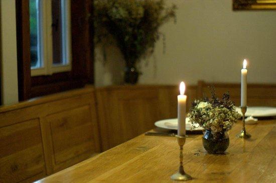 Valea Verde Resort: cozy restaurant athmosphere