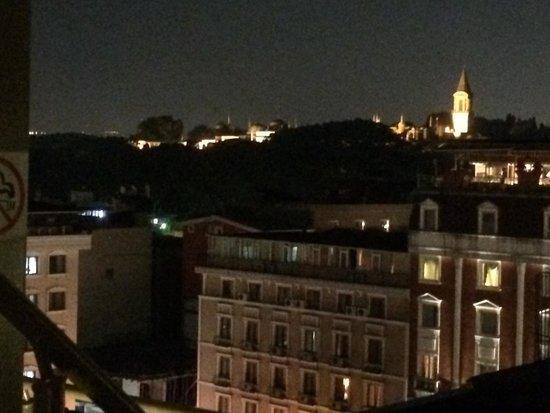 Levni Hotel & Spa : Otra vista desde la habitación.