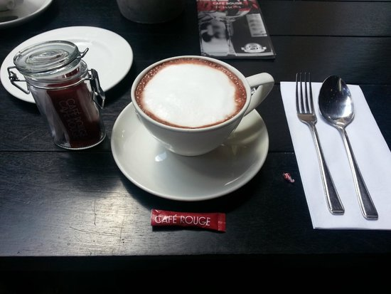 Cafe Rouge - Brindley Place: Hot Chocolate