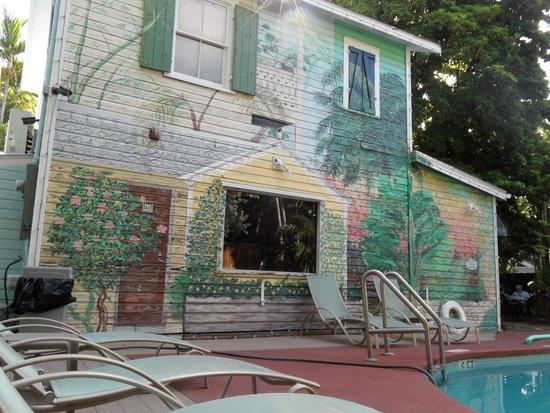 Wicker Guesthouse: jardin