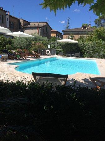 Hotel Al Grappolo d'Oro : La bellissima piscina