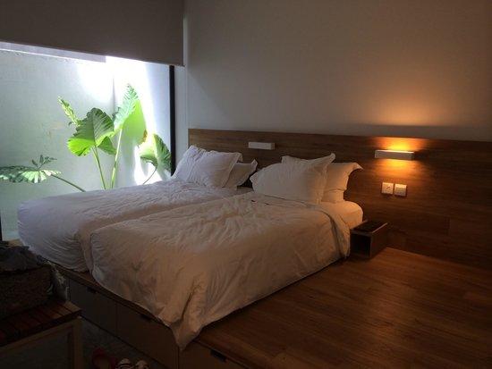 Lloyd's Inn: Garden room (twin bed)