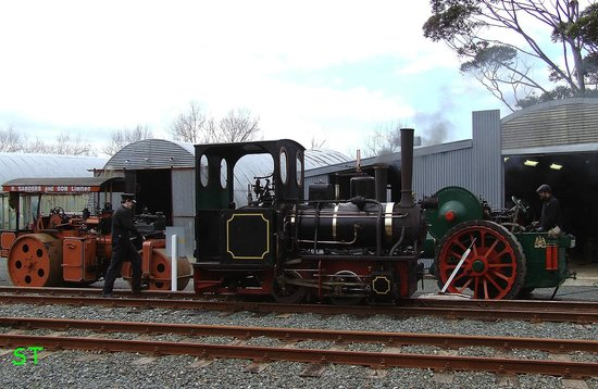 Museum of Transport and Technology: MOTAT Steam Engines